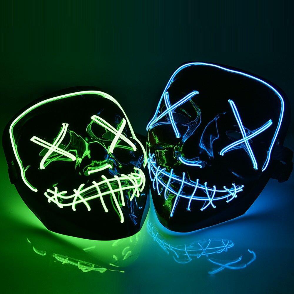 Неоновые маски в Шахтах
