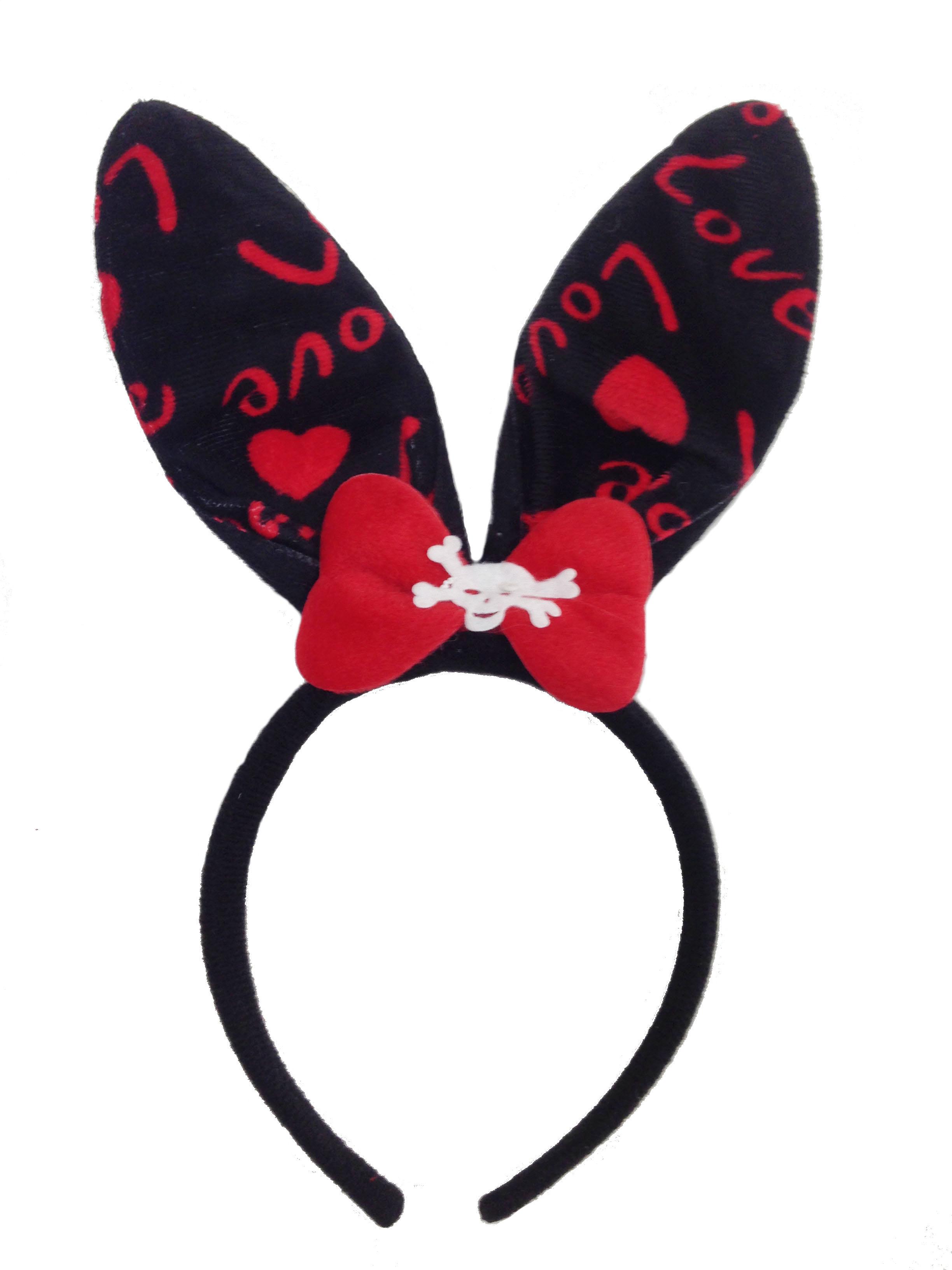 Черные уши зайца картинки